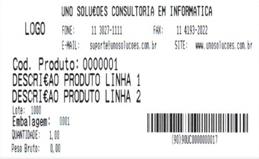 Etiquetas de Produto