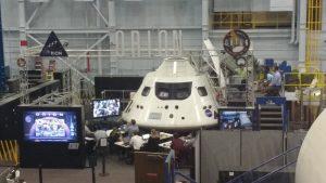 Réplica da sonda Orion